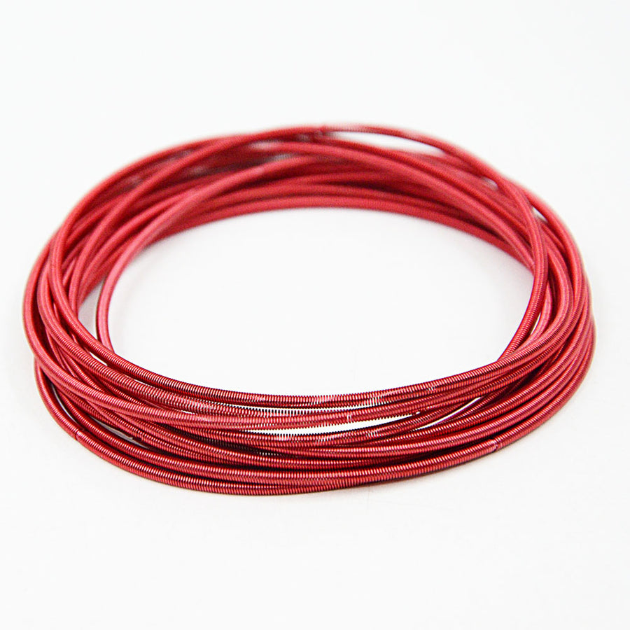 Rainbow Spring Bracelets - Deep red