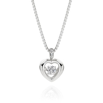 Dancing Heart Necklace