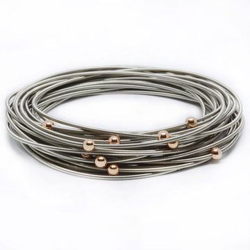 Rose Gold Masai Bracelets - 20 Pack