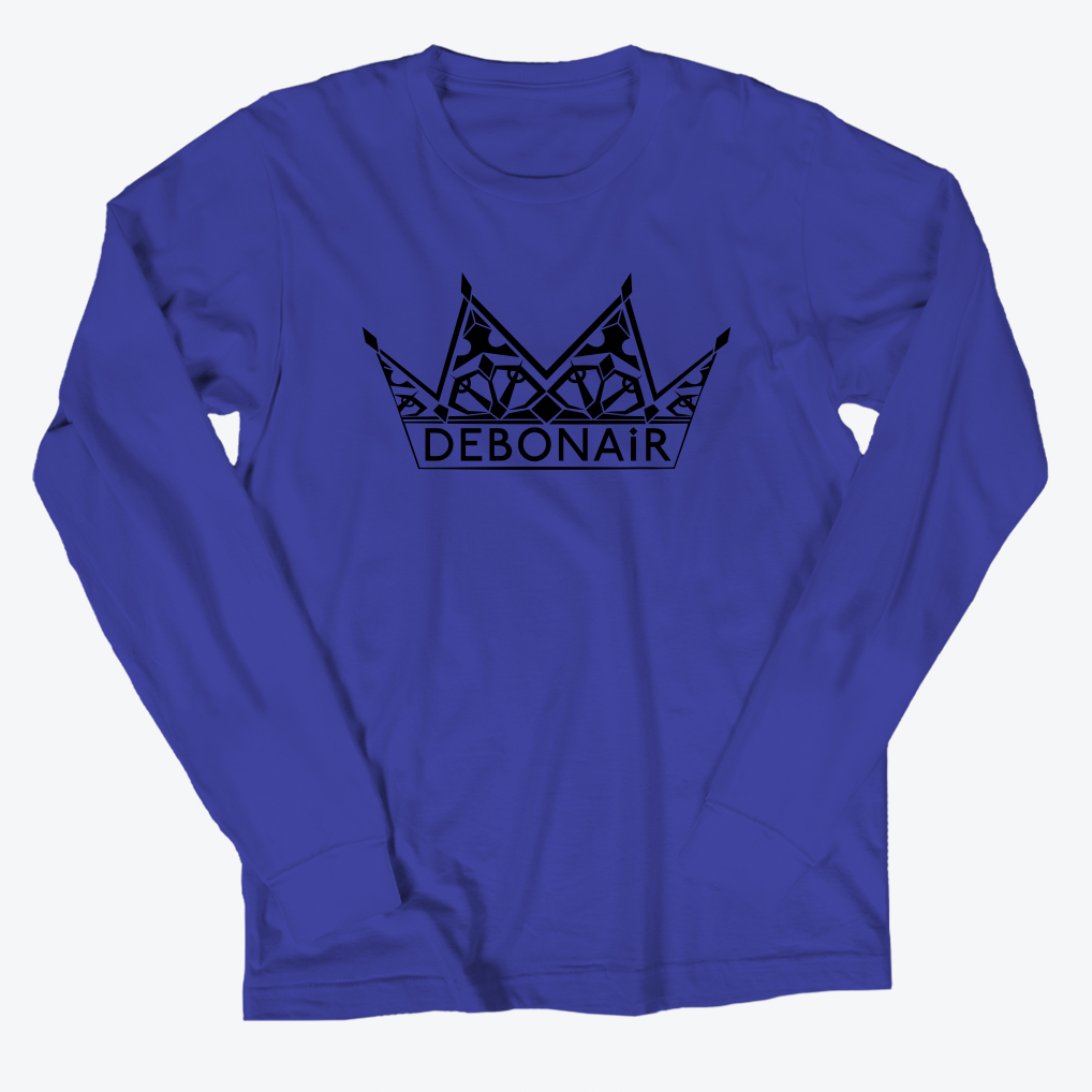 Logo Long Sleeve - Cobalt Blue