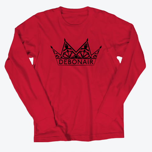 Logo Long Sleeve - Crimson Red