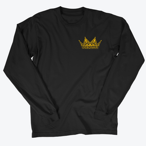 Corner Logo Long Sleeve - Classic Gold
