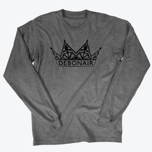 Logo Long Sleeve - Titanium Grey