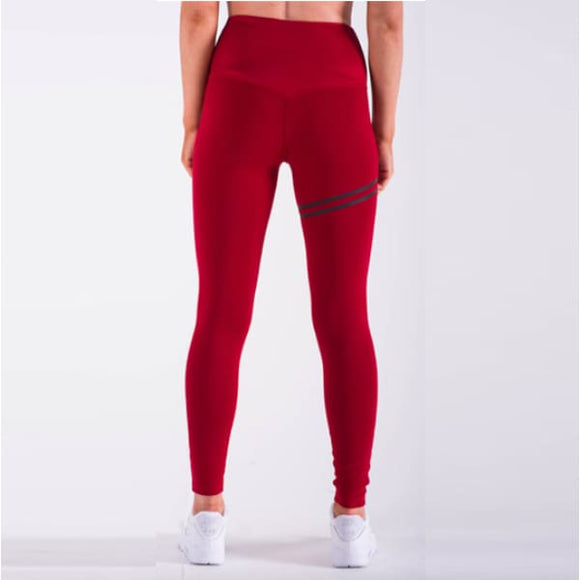 Leggings - Uni Double Bande - Leggings