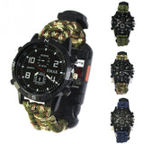 this here is 3 watch 1 blue 1 green 1 camo