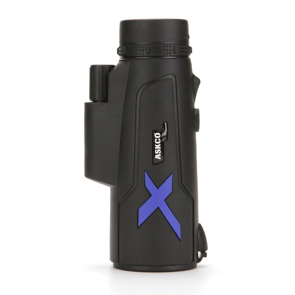 this is a black monocular on the white backround