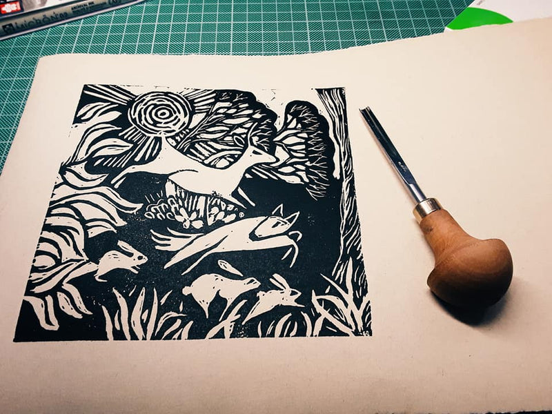 Dipping my toes into the world of printmaking