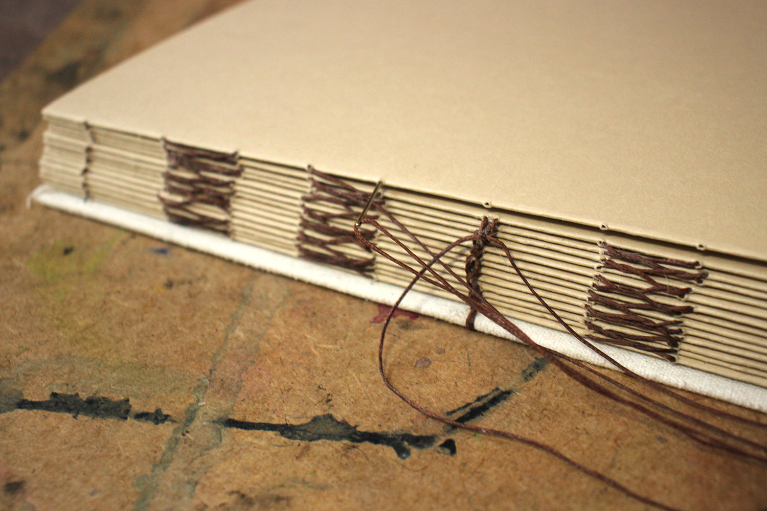 Sewing the book