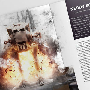 And Sons Magazine Vol 3 Nerdy Boards Article