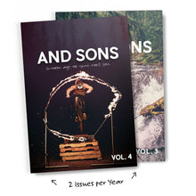 Load image into Gallery viewer, And Sons Magazine Annual Print Subscription