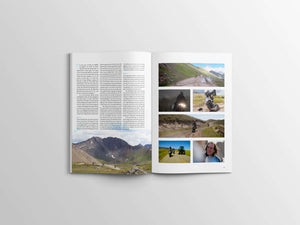 Magazine Article of Adventure Motorcycle Trips in Colorado