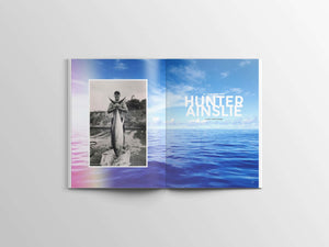 Magazine Article of Hunter Ainslee Interview