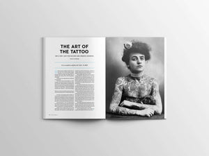 Magazine Article of the Art of the Tattoo