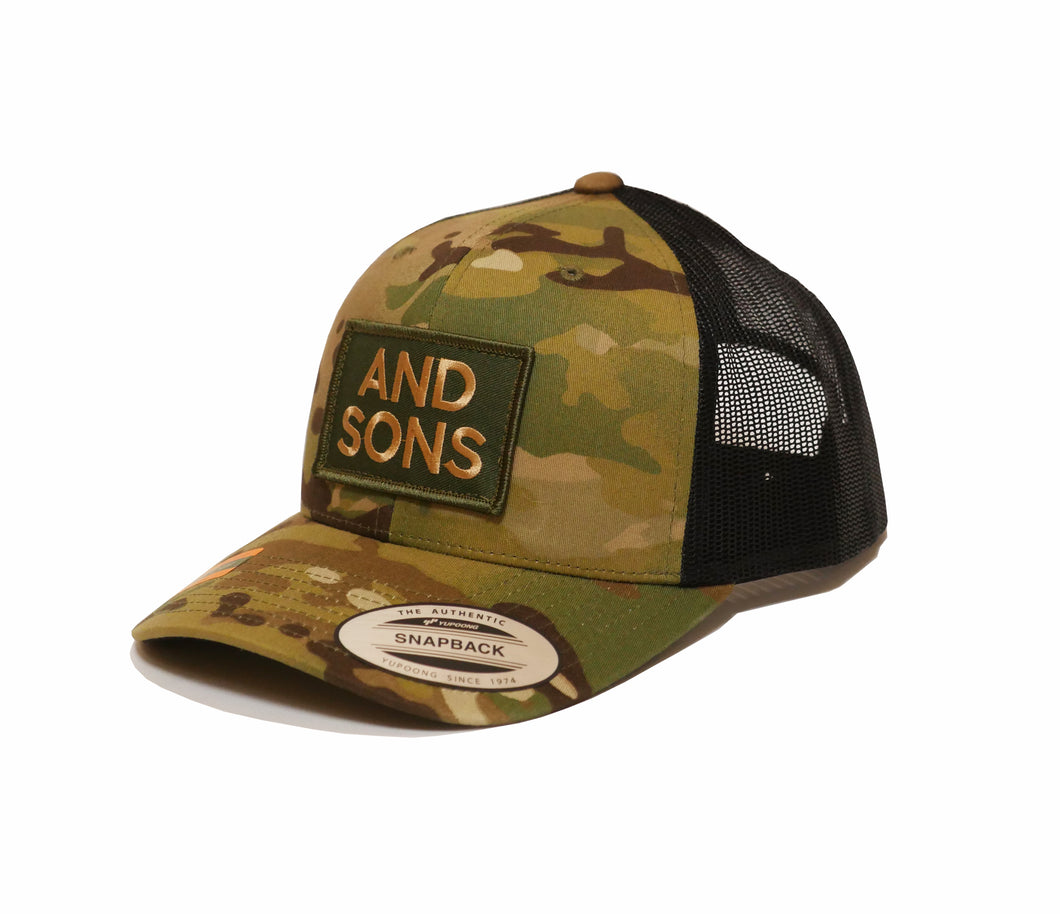 The Year II Cap - And Sons Retro Trucker Multicam