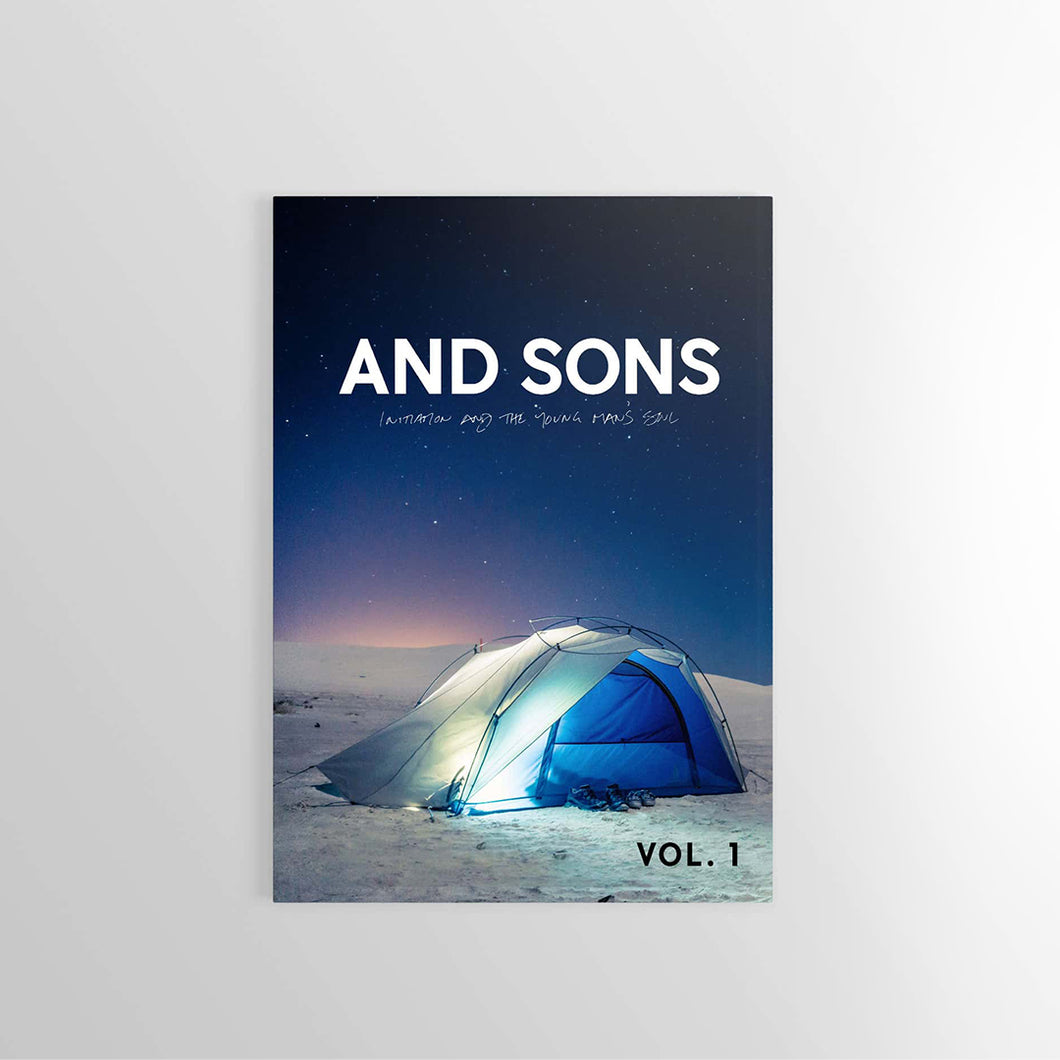 Front Cover of And Sons Magazine Volume 1