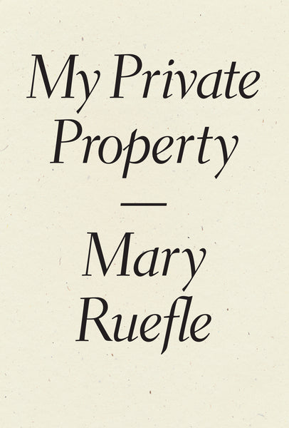 Mary Ruefle prose bundle
