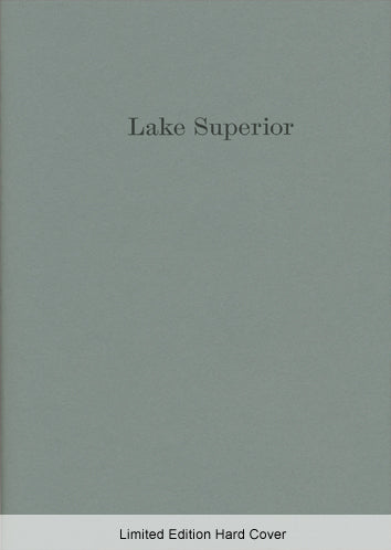 Lorine Niedecker - Lake Superior - limited edition hard cover