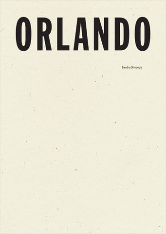Orlando, by Sandra Simonds