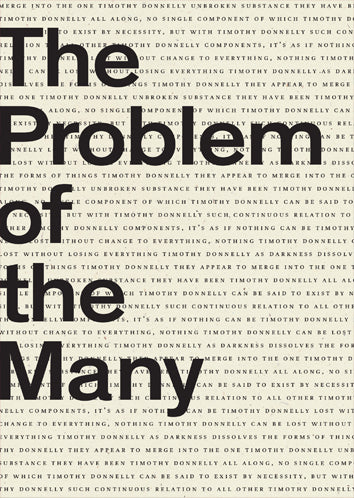 The Problem of the Many, by Timothy Donnelly