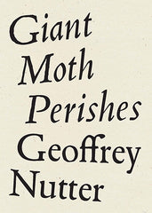 Giant Moth Perishes