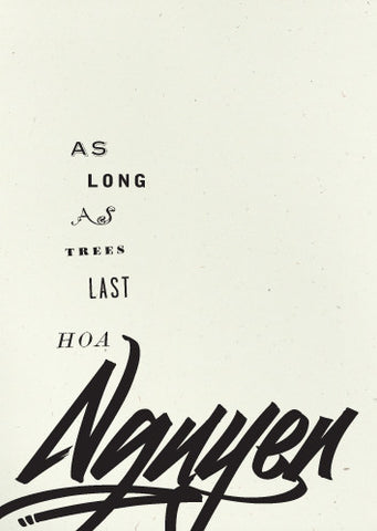 cover: As Long As Treest Last, by Hoa Nguyen