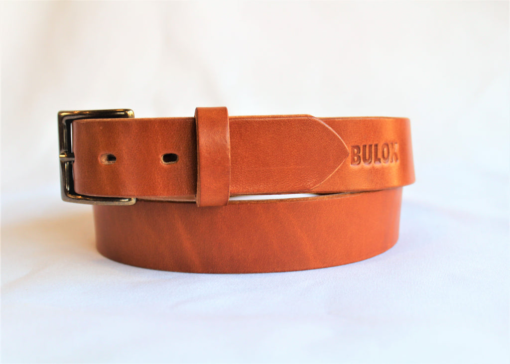 "Classic Buck Brown 1.25"" Men's Belt"