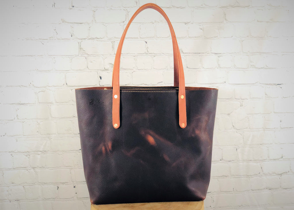 Bethel Tote, Black Cherry