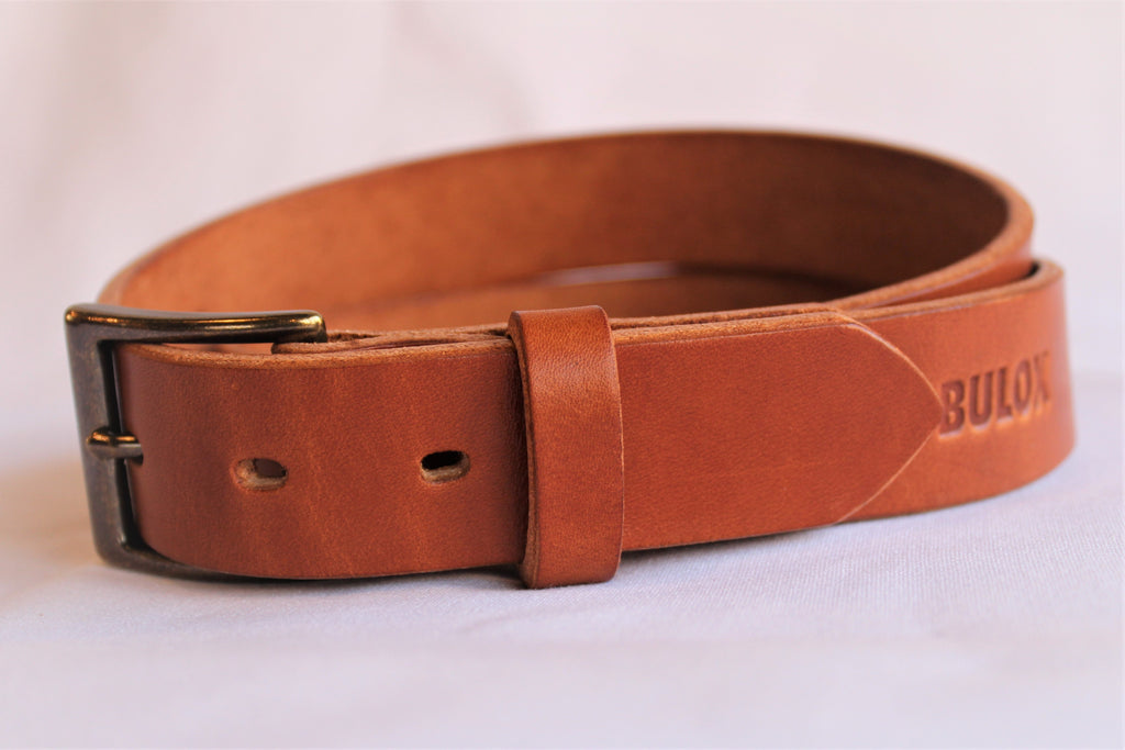 "Traditional Buck Brown 1.5"" Men's Belt"