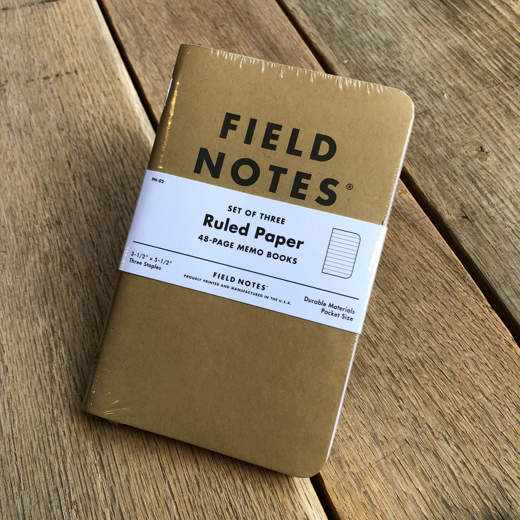 Field Notes, 3-Pack Refill