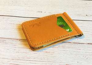 No. 82 Money Clip, Russet