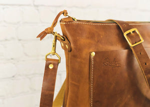 Praire Crossbody, Tan