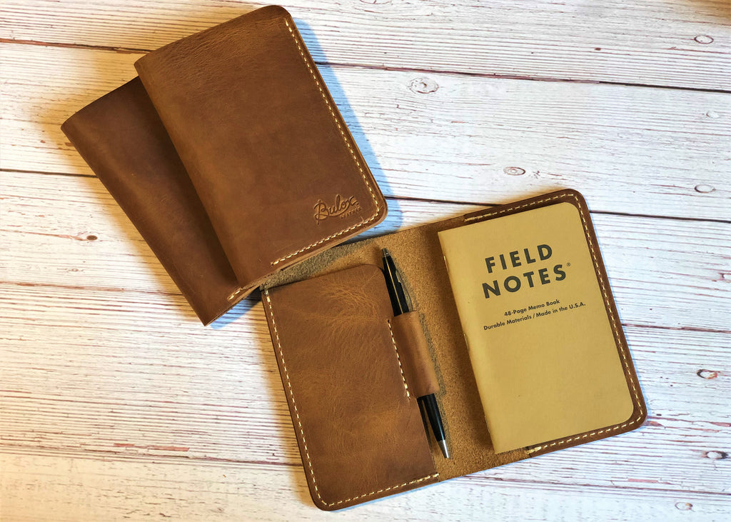 Sardis Notepad, English Tan
