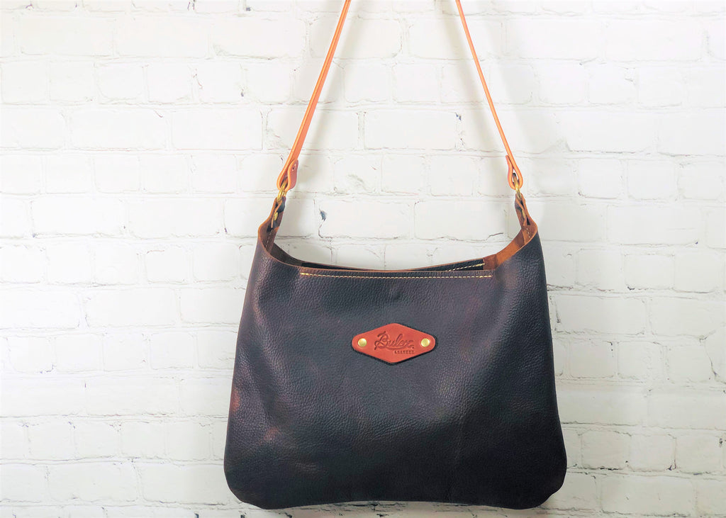 Shoulder Bag, Black Cherry