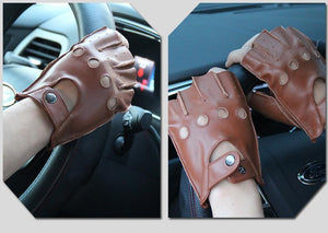 100 % Genuine Leather Driving Gloves For All Seasons