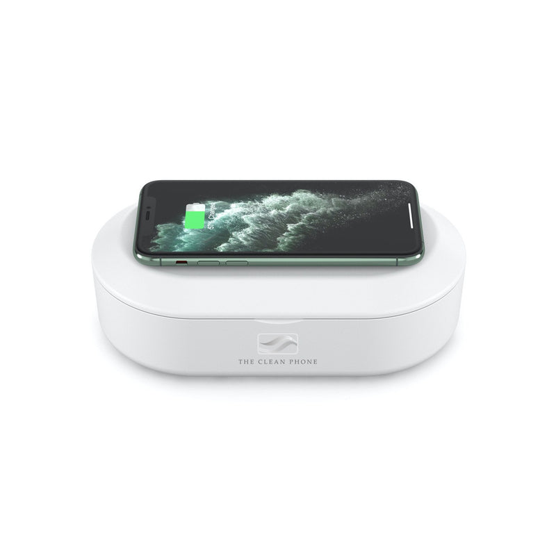"""The Clean Phone"" UV Sanitizer and High-Speed Wireless Charger - The New Deal Shop"