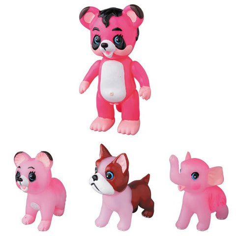 Anraku Ansaku Animal Set 1 (pink)**