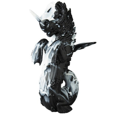 Bakekujira - black/white marbled **