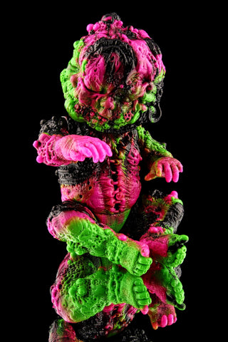 Dcon 2018 Exclusive Marbled Autopsy Baby - pink/green/black