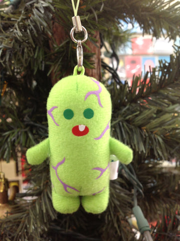 Plush Menta Kun strap - green - SALE!