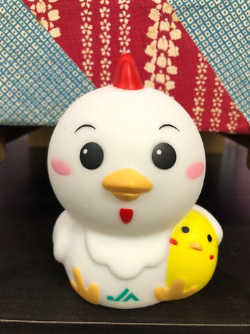 Chicken & Baby Mascot Bank