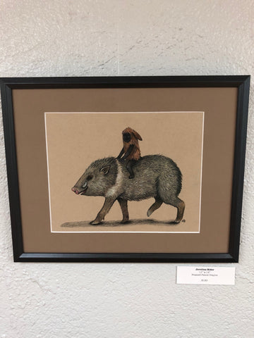 Javelina Rider by Ainsley Sturko