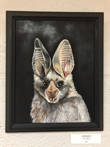 Leaf Nosed Bat by Ainsley Sturko