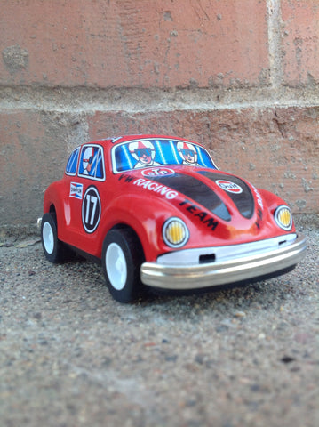 Racing Beetle - red #112r