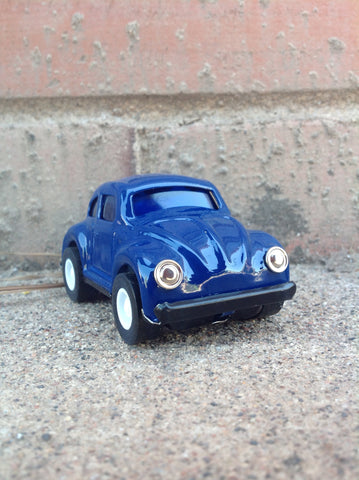 Pull Back Tin VW - blue #104b