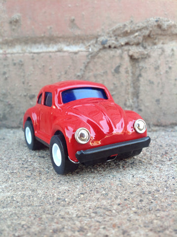 Pull Back Tin VW - red #104r