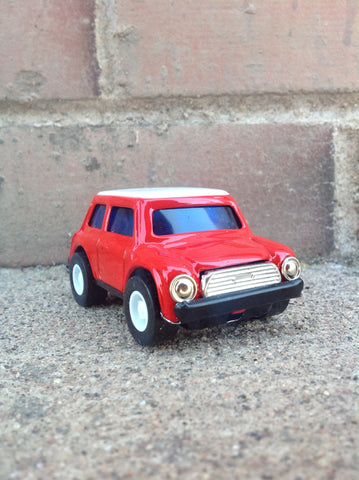 Pull Back Tin Mini - red #105r