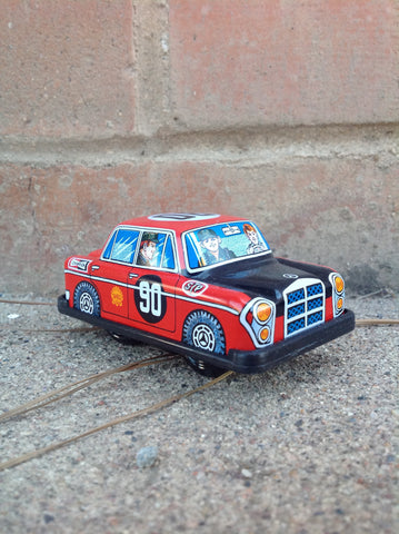 Wind Up Tin Mercedes #103m
