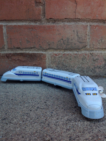 Shinkansen Wind Up Tin Train - #1237