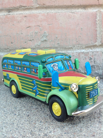 Bonnet Bus Tin Friction Powered - #502