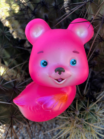 SUPER FUN! Bright Pink BearDuck - Grumble Toy ver.